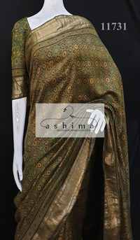 Tussar silk saree 11731