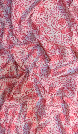 Printed Cotton Fabric FBK89