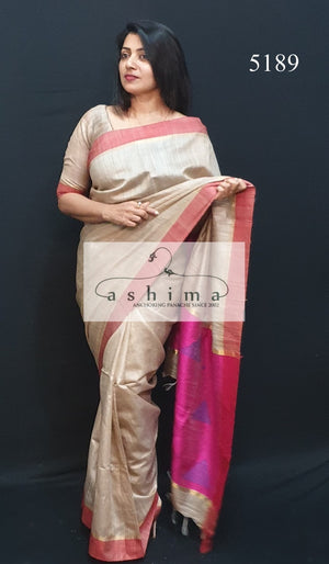 Tussar Silk Saree 5189