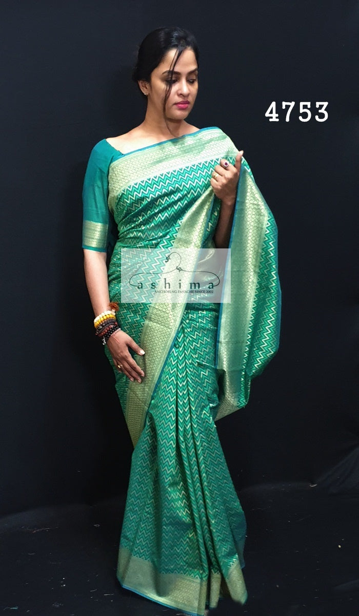 Semi Banarasi Saree 4753