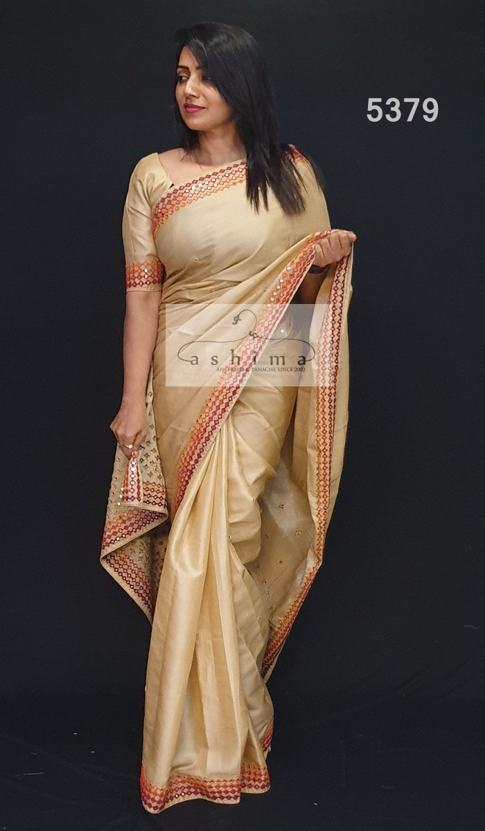 5379 Tussar Silk Saree