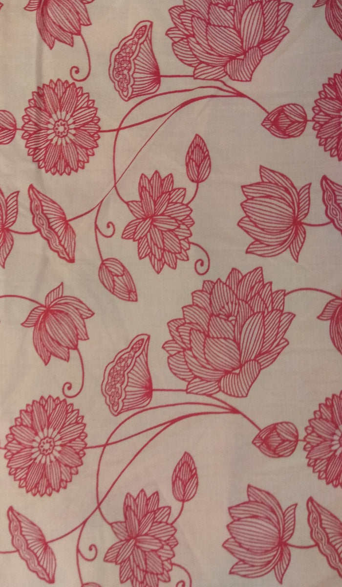 Printed Cotton Fabric FBK029