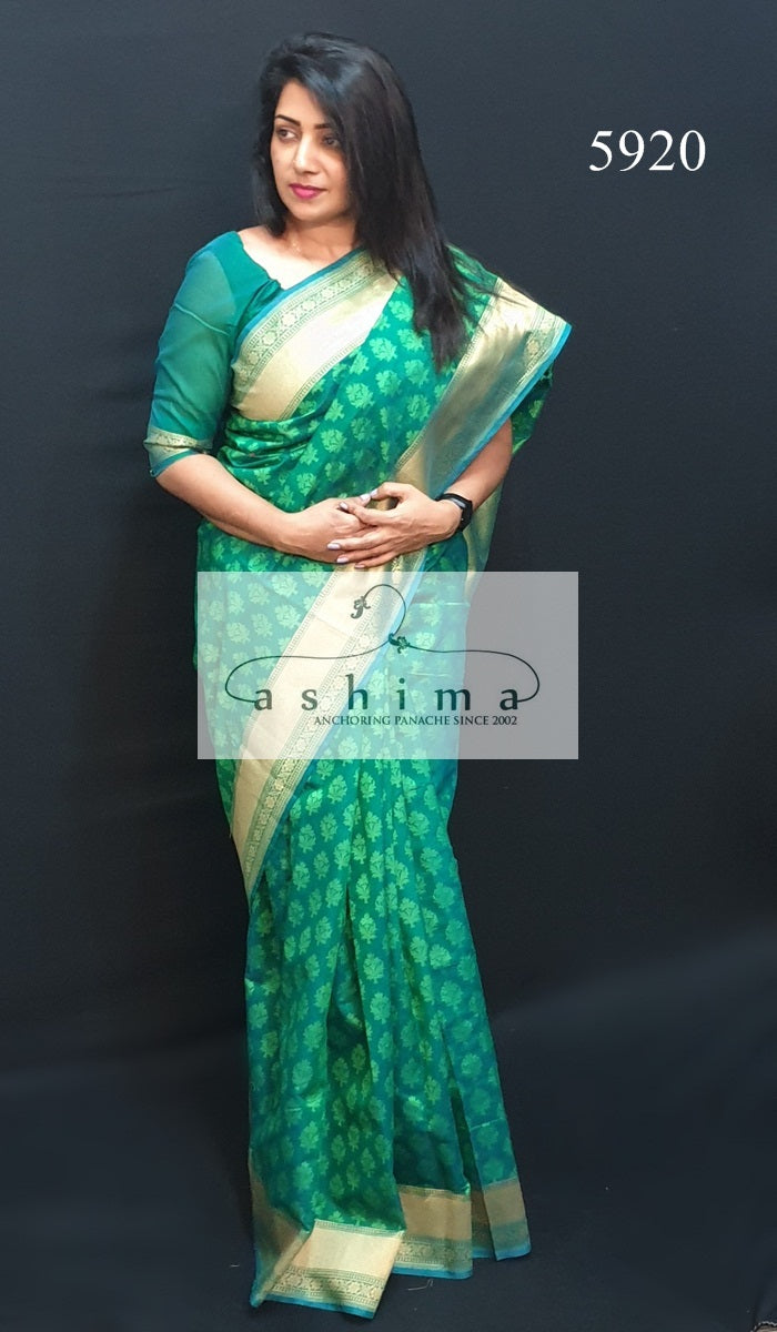 Semi Banarasi Saree 5920