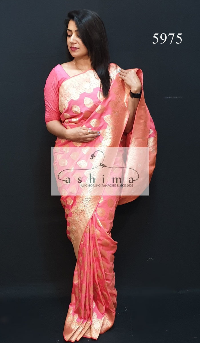 Semi Banarasi Saree 5975