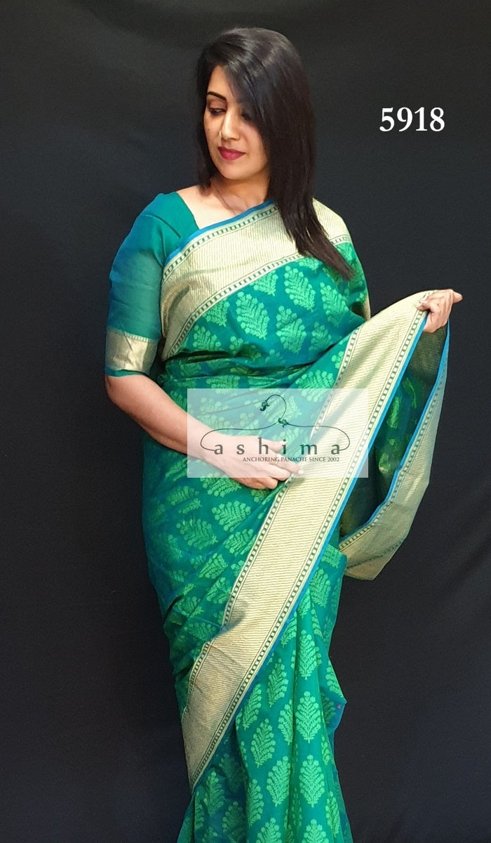 Semi Banarasi Saree 5918