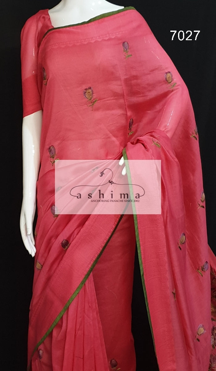 Chanderi saree 7027