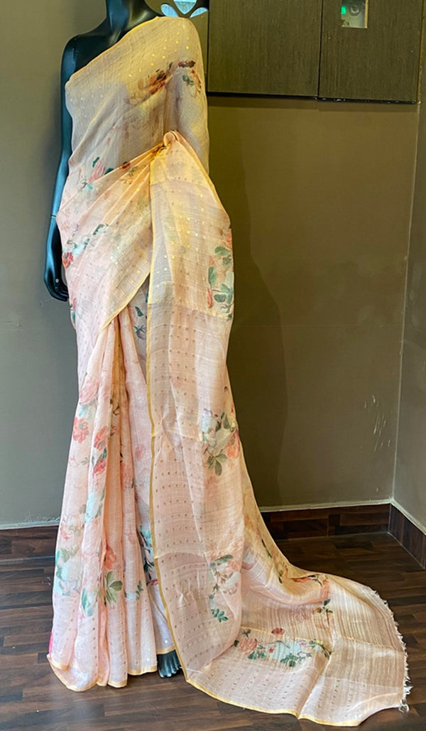 Designer silk saree  13107