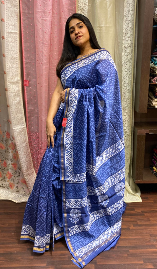 Chanderi saree 14264