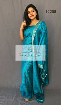 Unstitched salwar suit 12208