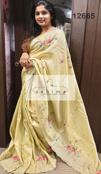 Tussar Silk Saree 12665