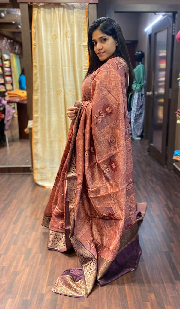 Chanderi saree 13791