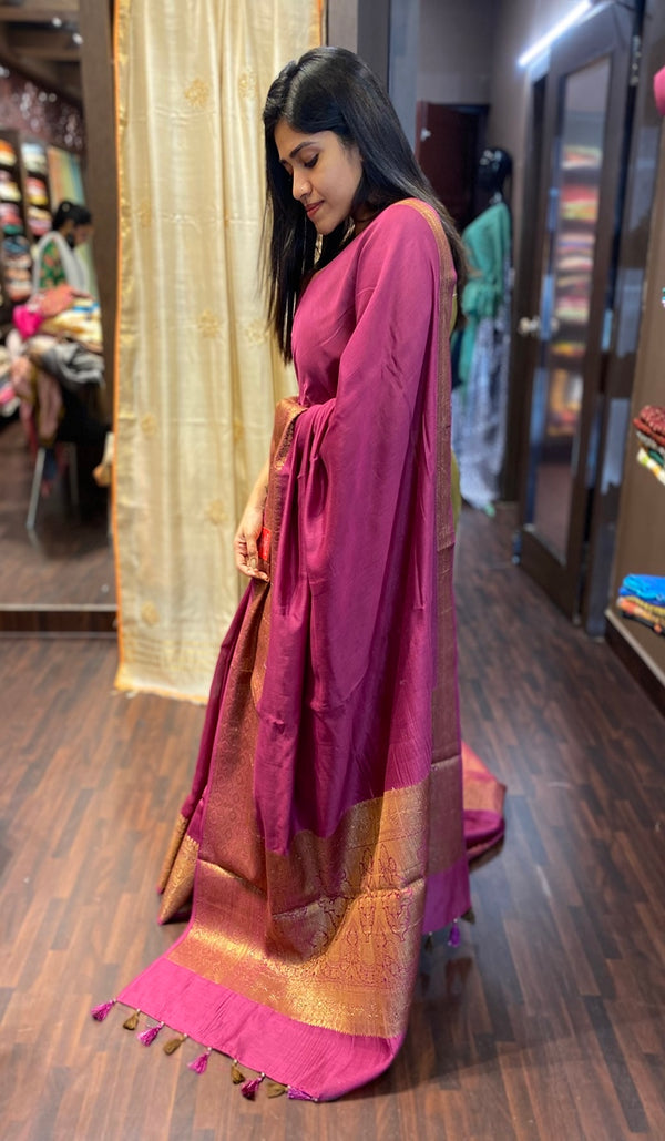 Chanderi Saree 13715
