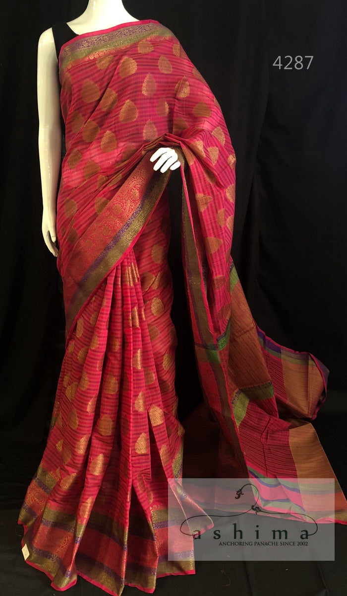 Semi Banarasi Saree 4287