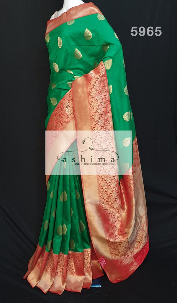 Semi banarasi saree 5965