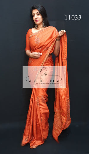 Tussar silk saree 11033
