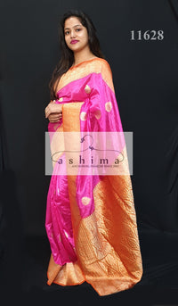 Semi banarasi saree 11628