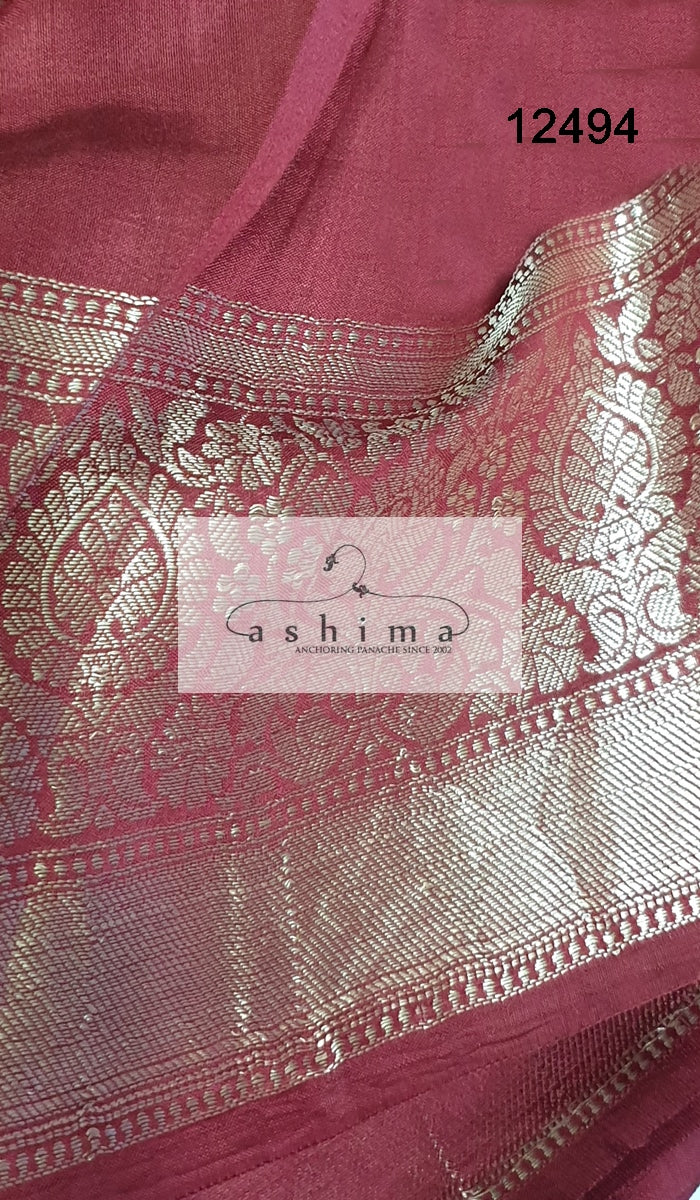 Silk saree 12494