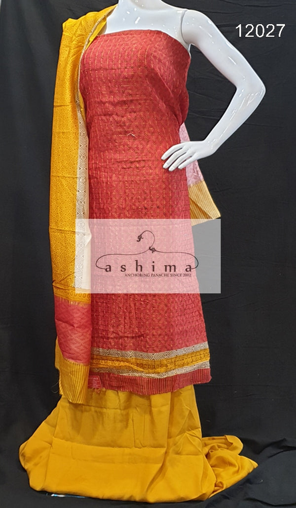 Unstitched salwar suit 12027