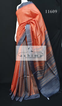 Tussar silk saree 11609