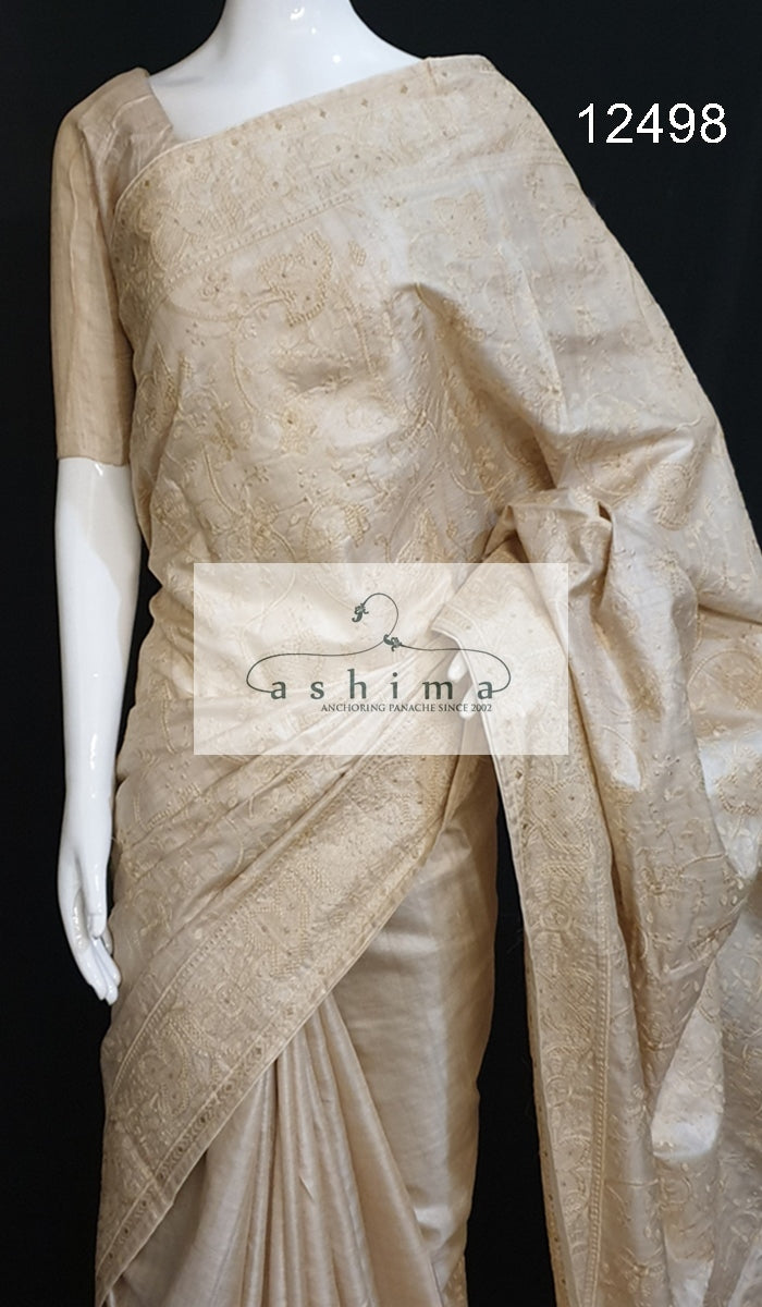 Tussar silk saree 12498