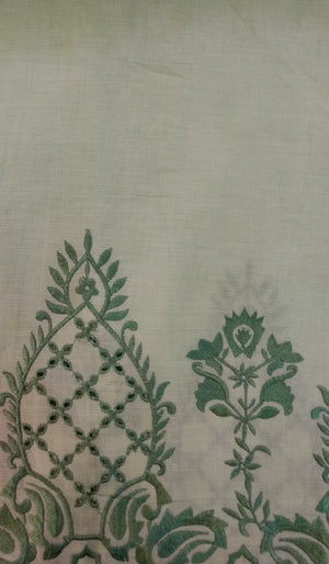 Embroidered Cotton Fabric DKE0003