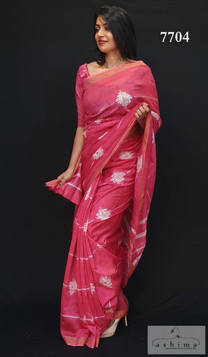Chanderi Silk Saree 7704