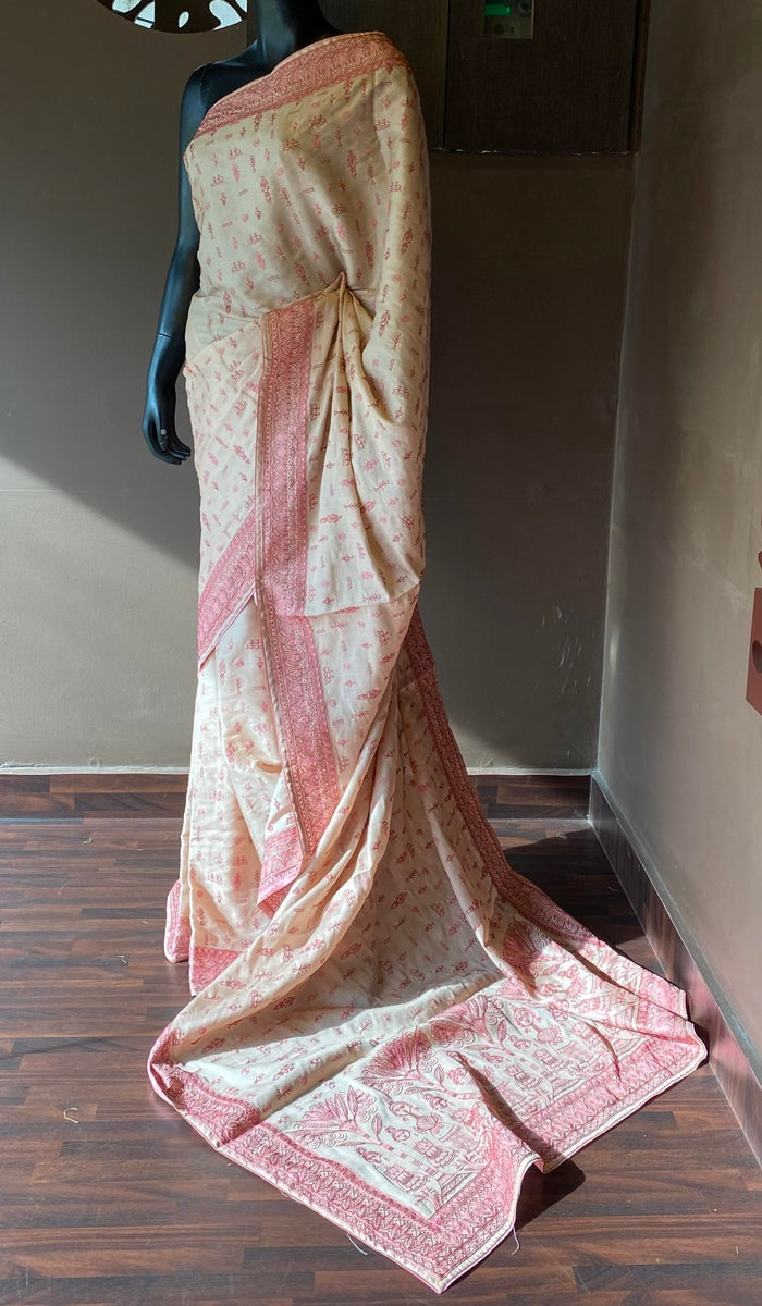 Semi silk saree 13015