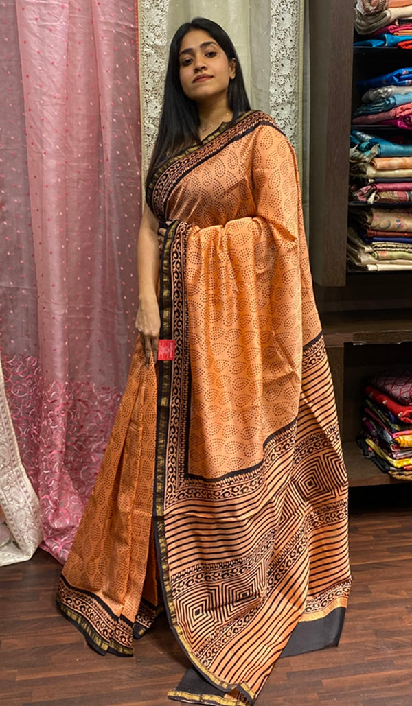 Chanderi saree 14278