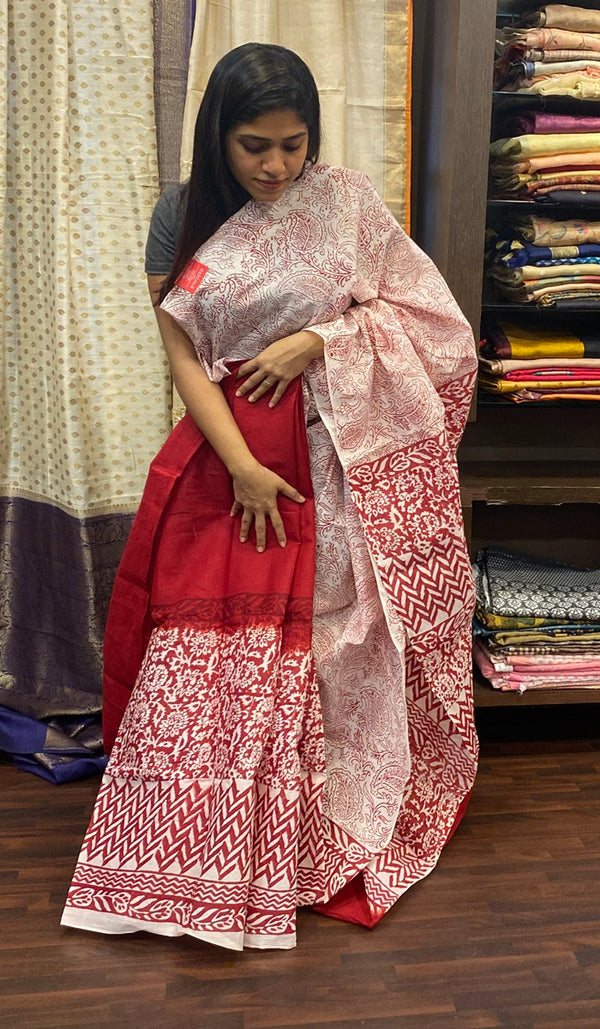 Cotton saree 14507