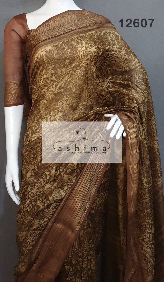 Chanderi Saree 12607