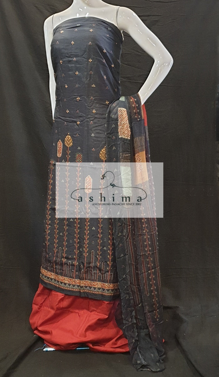 Unstitched salwar suit 12039