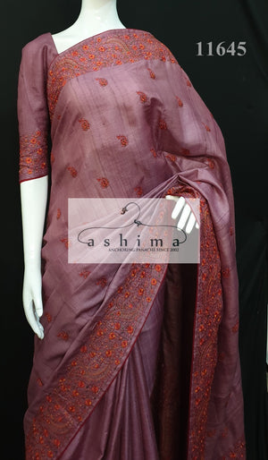 Tussar silk saree 11645