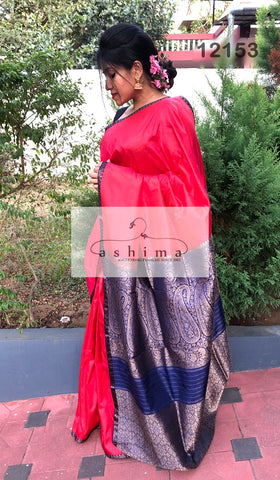 Banarasi silk saree 12153
