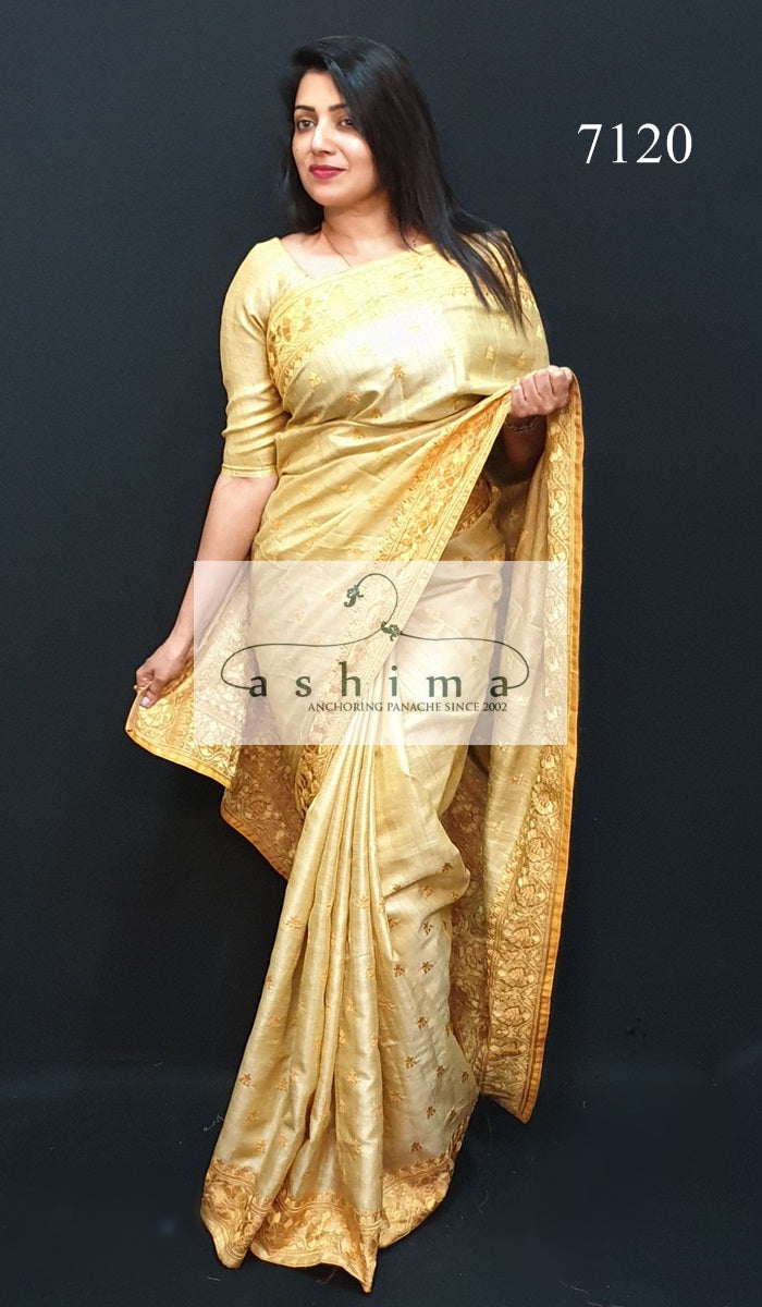 7120 Tussar Silk Saree