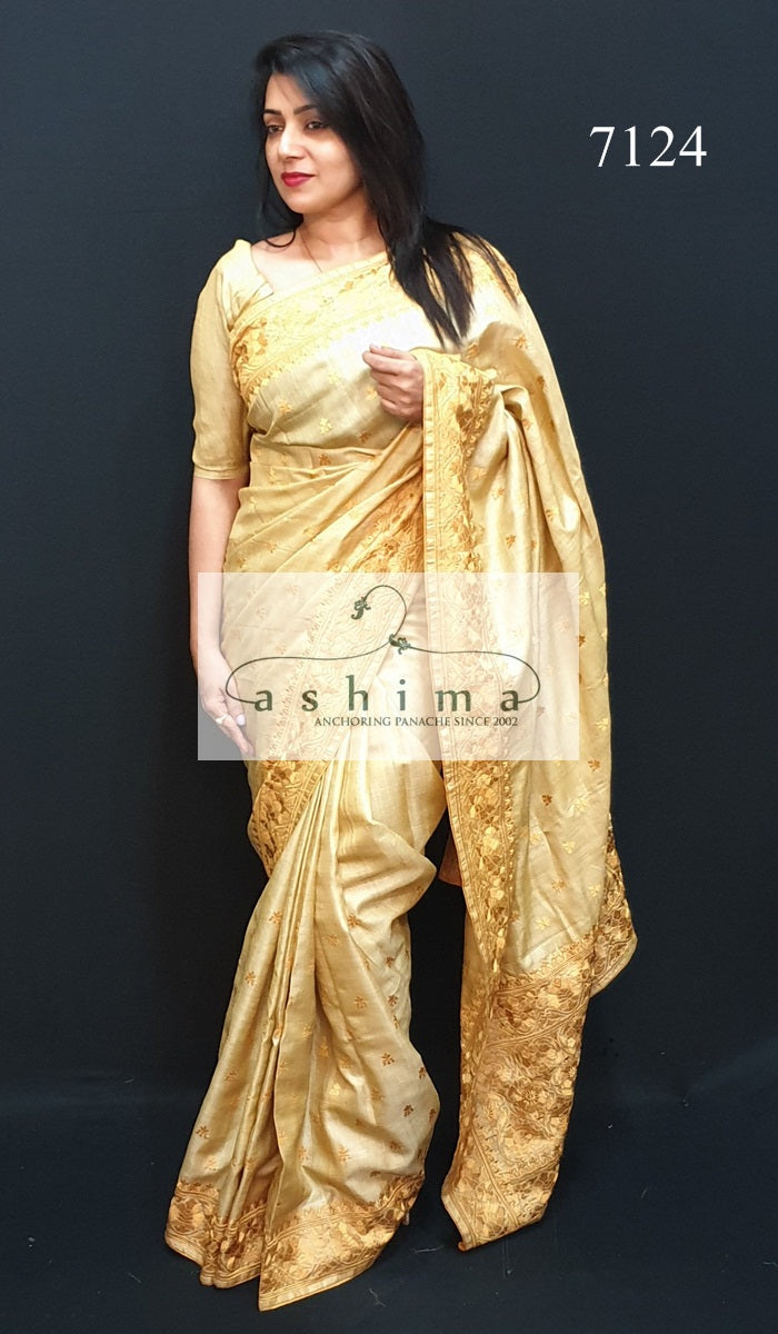 Tussar Silk Saree 7124