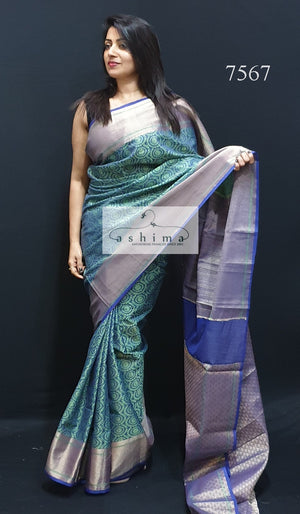 Semi Banarasi Saree 7567