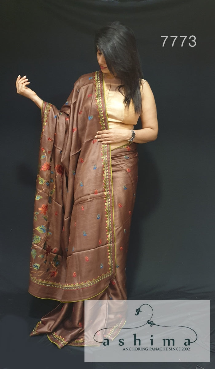 Tussar silk saree 7773