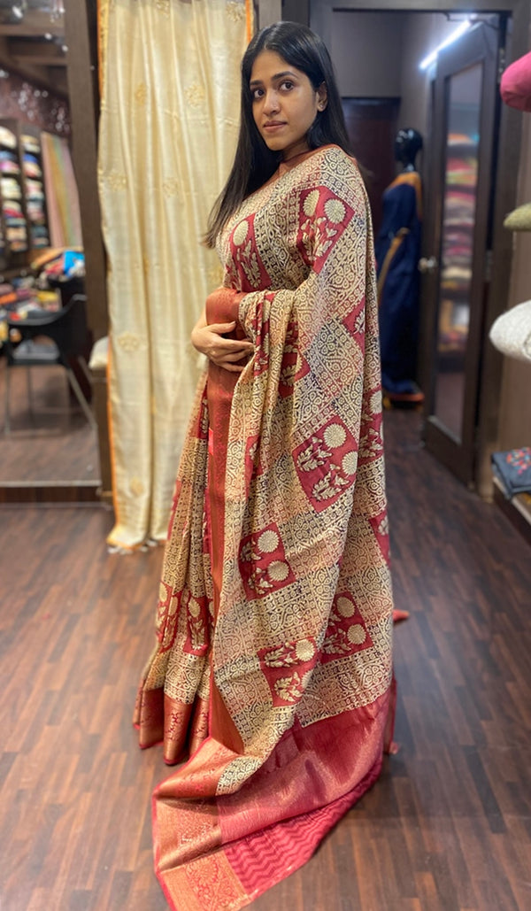 Chanderi saree 13814