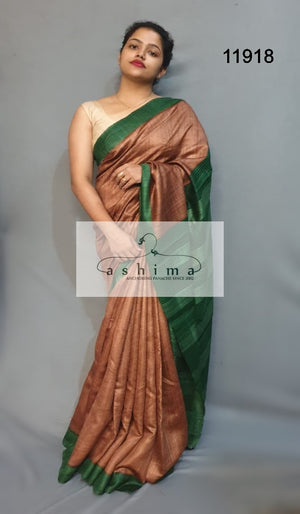 Tussar silk saree 11918