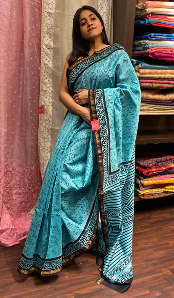 Chanderi saree 14276