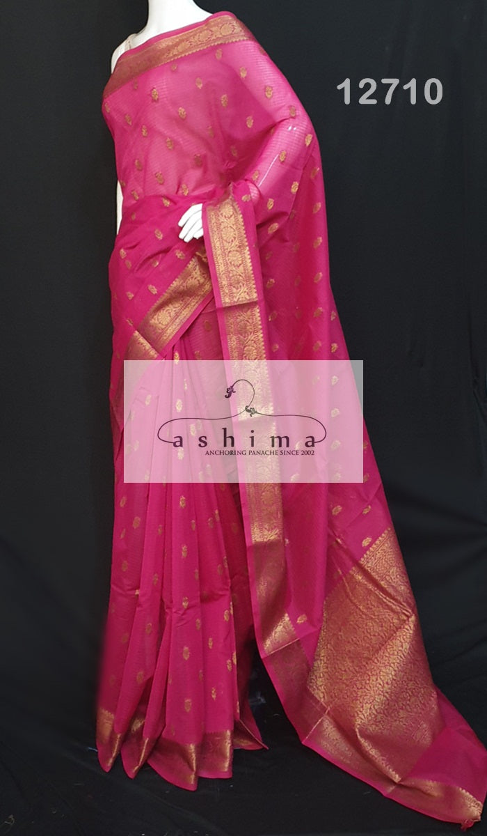Semi banarasi saree 12710