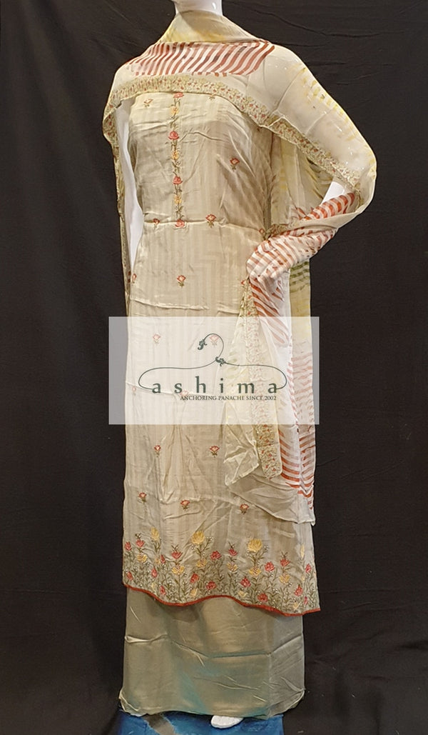 Unstitched salwar suit 12082