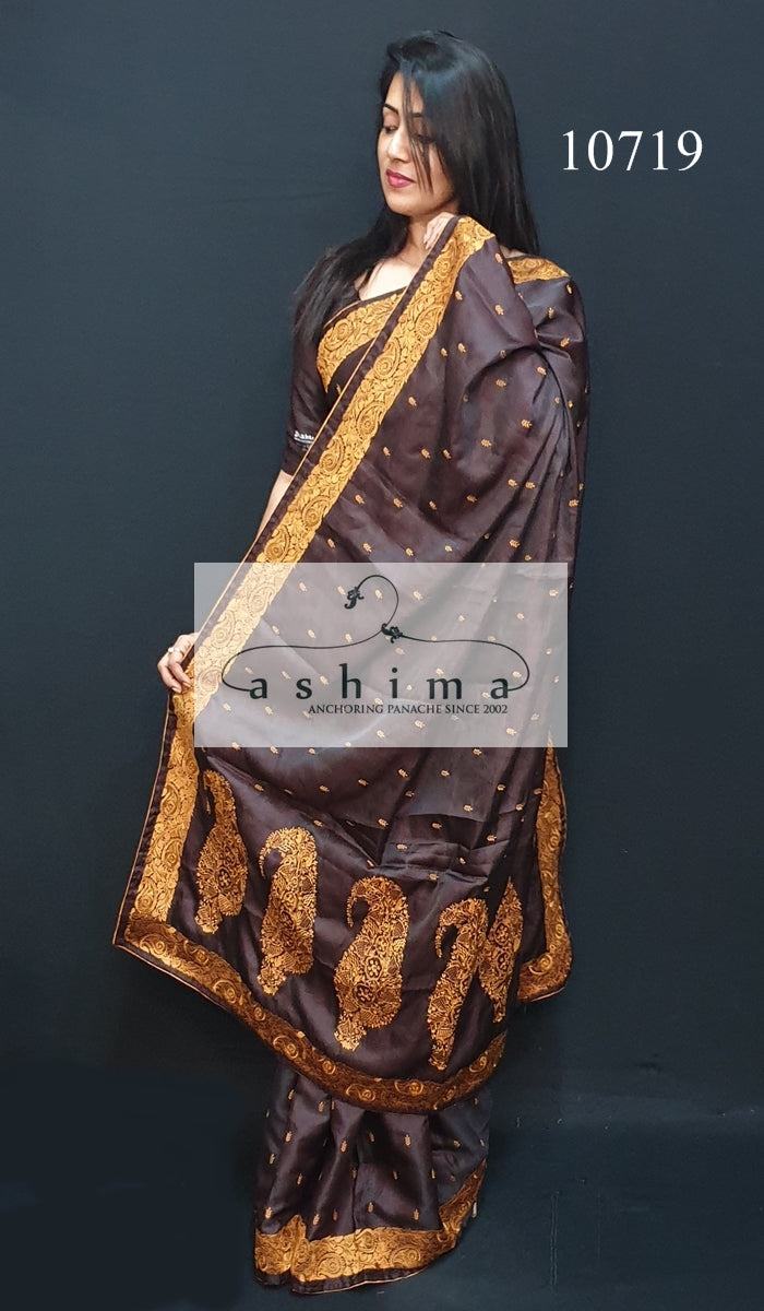 Semi silk saree 10719