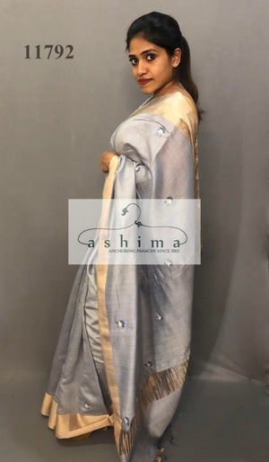 Tussar silk saree 11792