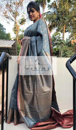 Banarasi silk saree 12351