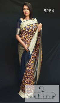Banarasi Georgette saree  8254