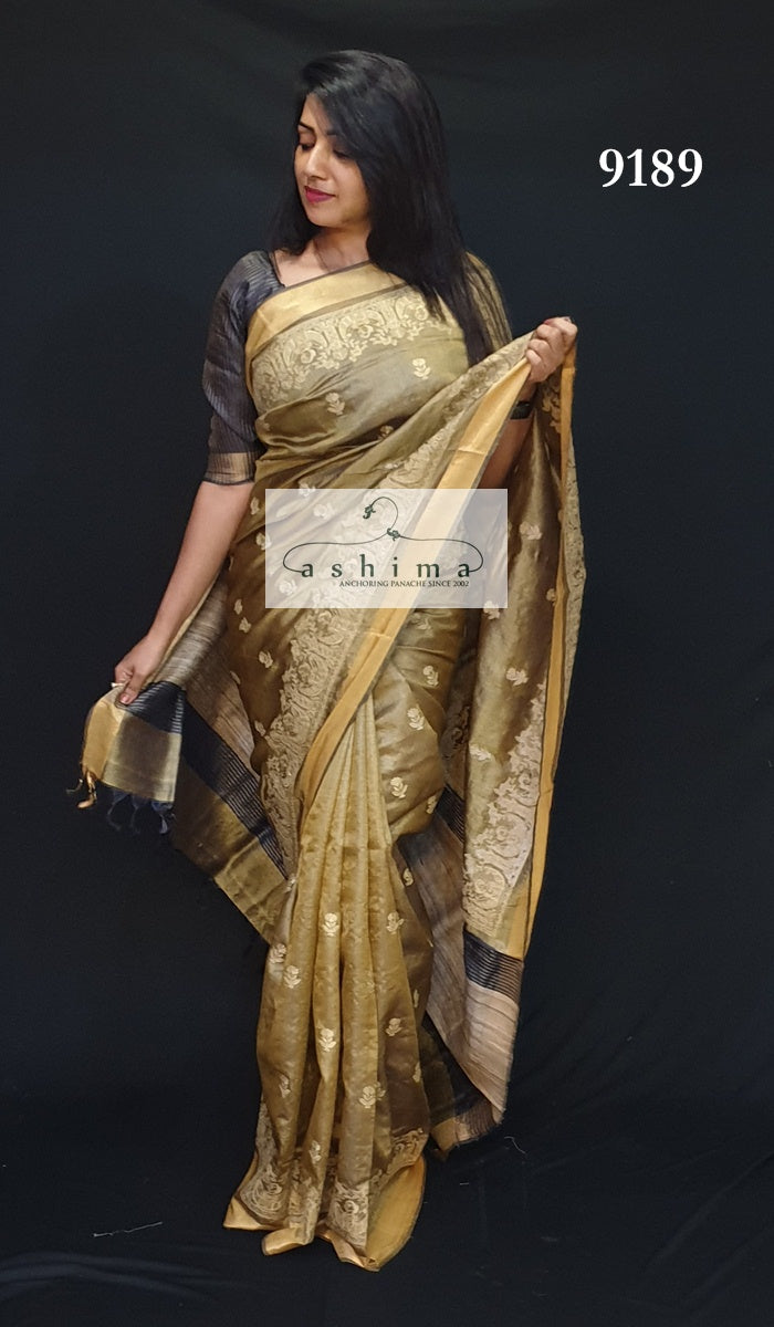 Tussar Silk Saree 9189
