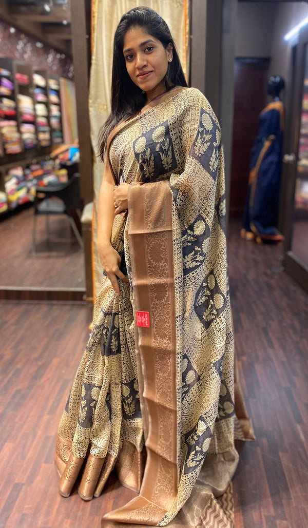 Chanderi saree 13816