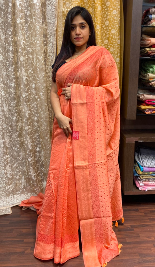 Chanderi saree 14419