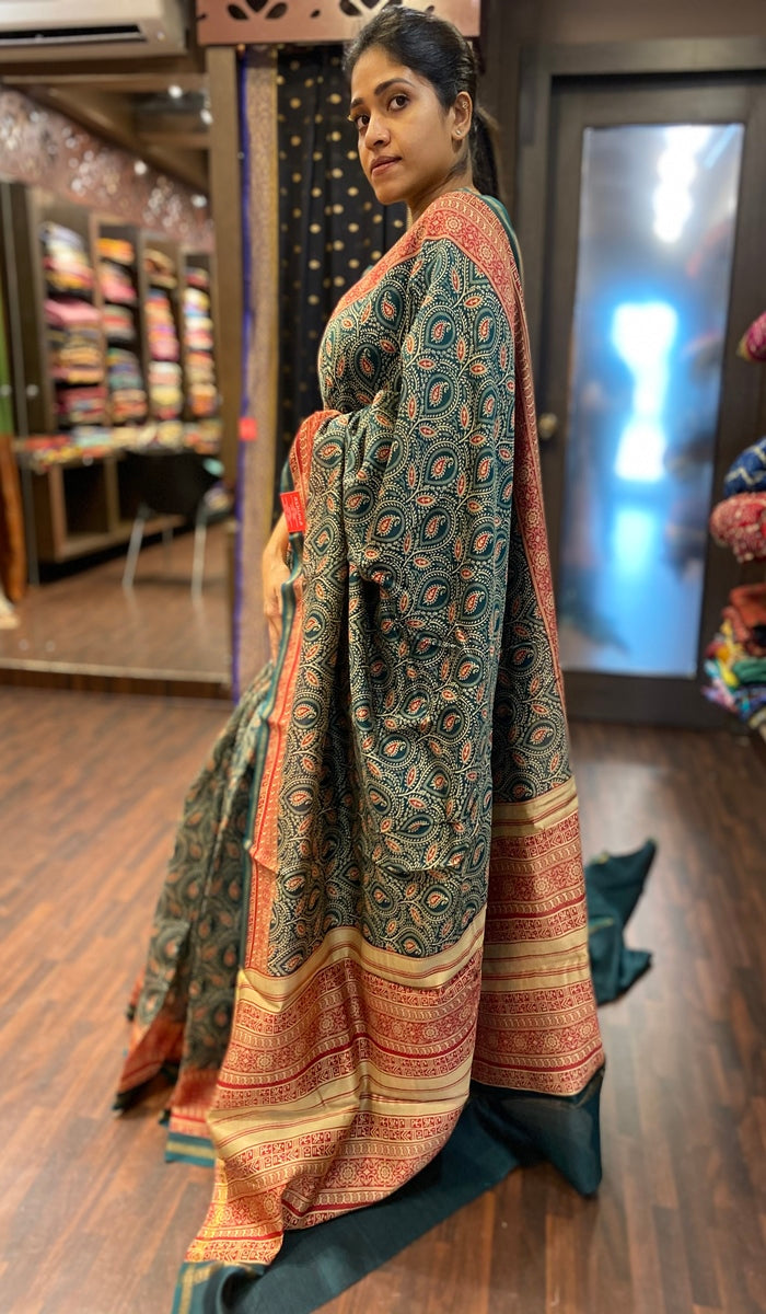 Chanderi saree 13483